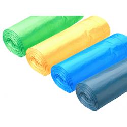 Sacos do Lixo Extra Forte Prof Amarelo 130L - 90x105cm (20 Sacos)