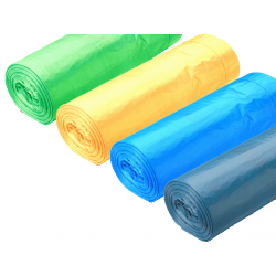 Sacos do Lixo Extra Forte Prof Azul 130L - 90x105cm (20 Sacos)